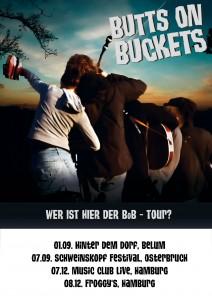 BoB Tourposter 2012